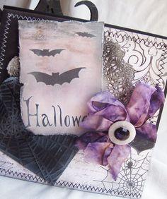 Vintage Style Halloween Card
