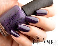 ZigiZtyle: OPI Miss Universe 2013 - Miss You-Niverse