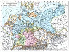•Das Deutsche Reich in seinem Gründungsjahr 1871 • The German Empire in 1871, its founding