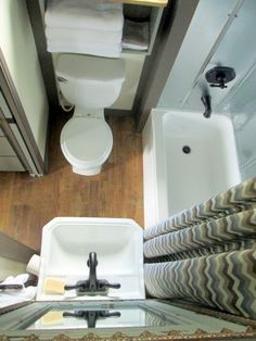 Small Compact Bathroom Very Efficient Layout Like The Stainless