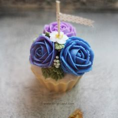 soy flower candle #소이플라워캔들 #candles #flower #브라이트앤