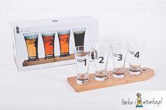 Zestaw do degustacji piwa Bar+opakowanie