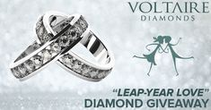 "#Win a Diamond Ring! ""Leap Year Love"" Diamond Giveaway http://www.voltairediamonds.ie/giveaways/leap-year-love/?lucky=73411 via @VoltaireDiamond"