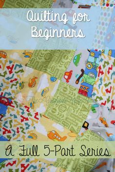 How to Make a Quilt for Beginners- This 5 part series walks you through each step of quilt making. Great for first-time quilters! From TheGraciousWife.com