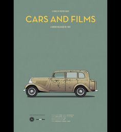 2 | Movie Posters That Place The Focus Where It Belongs: On The Cars | Co.Design | business + design