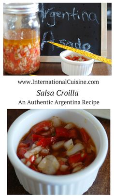 This coveted salsa croilla recipe is found on nearly every Argentina table.  This sauce may be more popular than their famed chimichurra sauce.  Bursting with flavor of onions red peppers and fresh herbs, you will love this on any type of meat. Enjoy!