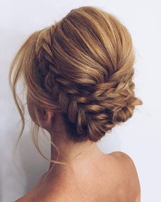 """148 Likes, 4 Comments - Fab Mood - Wedding Blog (@fabmoodpalette) on Instagram: """"Pretty hair for this weekend. Hair by @gokselcolak . #weddingblog #weddinghair #hairstyles…"""""""