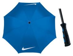 Nike 62'' Windproof Golf Umbrella - Photo Blue/White