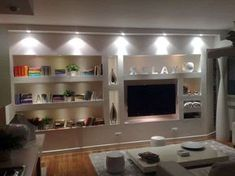Idee pareti soggiorno in cartongesso (Foto) | Designmag