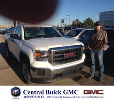 https://flic.kr/p/AHBjUX | Happy Anniversary to Keith on your #GMC #Sierra 1500 from Justin Duckert at Central Buick GMC! | deliverymaxx.com/DealerReviews.aspx?DealerCode=GHWO