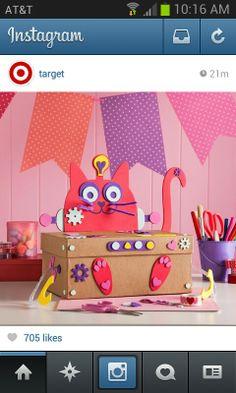 Fun valentine box. Idea from target instagram!