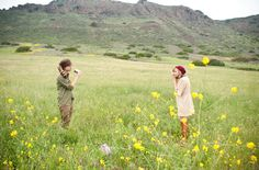moonrise kingdom inspired elopement // via green wedding shoes