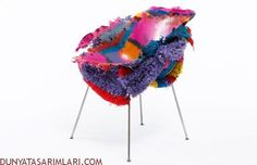 Crazy and Colorful Chair