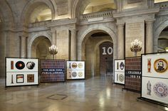 Pentagram: New York Public Library: 'Celebrating 100 Years' exhibition