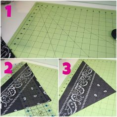 chevron bandana quilt — The Pleated Sewing Pillow Patterns, Sewing Pillows, Bandana Quilt, Bandana Crafts, Sewing Crafts, Sewing Ideas, Quilt Making, Picnic Blanket, Chevron