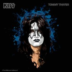 "Tommy Thayer is the current lead guitarist for the band Kiss. He has played on ""Kiss Symphony: Alive IV"" 2003, ""Sonic Boom"" 2009, and ""Monster"" 2012. Real name: Thomas Cunningham Thayer. Born in Portland, Oregon November 7th, 1960"