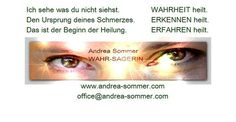 Andrea Sommer - WAHR-SAGERIN - Astrologie-Karten-Schamanismus SPIRIT COACH Tarot, Andreas, Coaching, Movie Posters, Movies, Astrology, Healing, Summer Recipes, Films