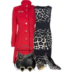 """""""Slaying Dragons"""" by arjanadesign on Polyvore ---- picked for me today by those little elves. I like the coat! And yeah, let's go slay some dragons!"""