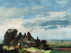 Cottages near Martham - Edward Seago, n.d.