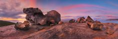 https://flic.kr/p/GFoYs6 | Granite chunks | Remarkable Rocks South Australia  Another panorama taken at dawn at the Remarkable rocks.   [Instructional Video] [Prints and Tutorials]  [Essential Field Guide Ebook]
