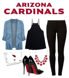 43d44f675af0 Arizona Cardinals Inspired Outfit  AZCardinals  NFLFanStyle Football Stuff