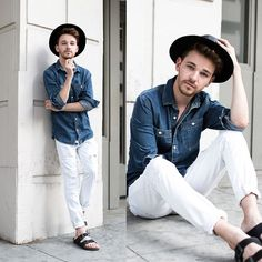 10 Must Have White Denim Outfit for Men - TheStyleCity - Men's Fashion & Women's Fashion | Style Guide