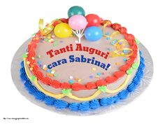 Crea cartoline personalizzate di compleanno | Tanti Auguri cara Sabrina! Barbie, Birthday Cake, Desserts, Tiny House, Hairstyle, Foods, Happy, Quotes, Personalized Greeting Cards