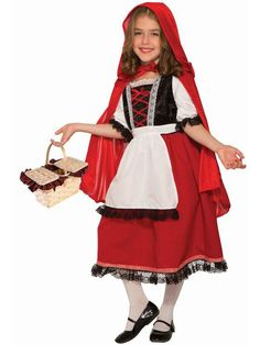 The Girl's Fairytale Collection Deluxe Red Riding Hood Costume is the perfect 2019 Halloween costume for you. Show off your Girls costume and impress your friends with this top quality selection from Costume SuperCenter! Up Halloween Costumes, Fancy Costumes, Costumes For Teens, Dress Up Costumes, Halloween Fancy Dress, Girl Costumes, Funny Halloween, Children Costumes, Easy Halloween