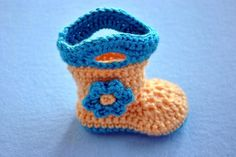 Booties Baby Goshalosh Boots by Elizabeth Alan