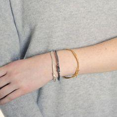 Looped String Bangle - Jewellery - I Love a Lassie Gold Bangles, Jewellery, My Love, Bracelets, Dressing, Collection, Jewels, Schmuck, Bracelet