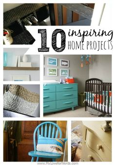 10 Inspiring Home Projects at My Love for Words