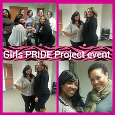 Supporting our fellow women's organization Girls PRIDE Project event.