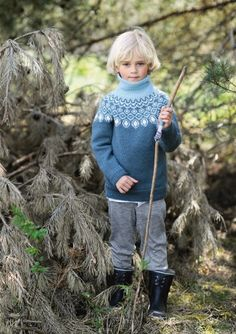 boys kids icelandic turtleneck sweater, photo from sandnesgarn knitting pattern, fuzzy fluffy childs childrens nordic Knitting For Kids, Baby Knitting, Baby Barn, Icelandic Sweaters, Boys Sweaters, Inspiration For Kids, Baby & Toddler Clothing, Needle And Thread, Kids Boys