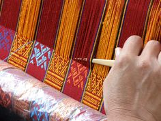 Weaving Aikapur in Butan.  Give me Strength! and such talent combined with patience. Stunning workmanship