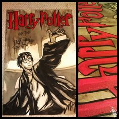 Harry Potter Coffee painting (2012) Caotime
