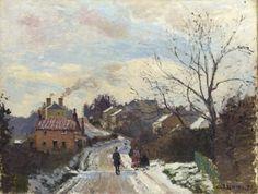 Camille Pissarro - Fox Hill, Upper Norwood https://dashburst.com/david-goldberg/573