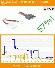 DeLOCK 65227 cable de SATA - Cable SATA (Ordenadores personales). Baja 57%! Precio actual 4,25 €, el precio anterior fue de 9,88 €. https://www.adquisitio.es/delock/65227-cable-sata-cable
