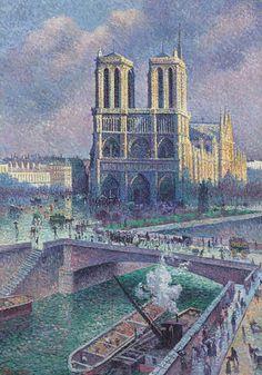 Notre Dame de Paris, 1900
