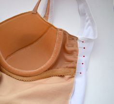 Bra in a swimsuit - Sewing lingerie