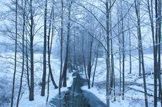 Ann-Kristina Al-Zalimi, river, winter, november, marraskuu, snow, cold, finland, ice