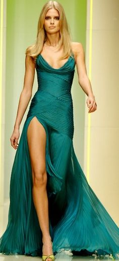 By Versace. So beautiful, perfect with a diamond solitaire necklace! Preferably from http://brilliance.com  ;)
