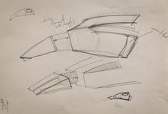 Zybina Viktoriia (School of Form), portable vacuum cleaner sketches