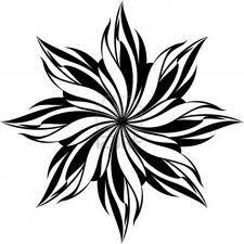Free Black and White stencil vector of Floral seamless pattern Black design isolated on white Flower Pattern Design, Flower Patterns, Flower Designs, Stencil Patterns, Stencil Designs, Mandala Design, Mandala Art, Mandala Tattoo, Arte Mehndi