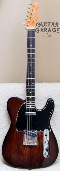 2002 Fender Limited Edition Rosewood Telecaster #fenderguitars