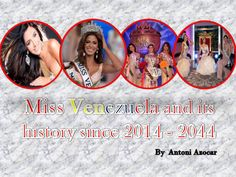 Miss Venezuela and its history since 2014 to 2044