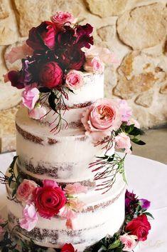 15th Birthday Cakes, Birthday Cards, Happy Birthday, Wedding Cales, Orange Purple Wedding, Fun Deserts, Amazing Deserts, Berry Wedding, Cake Business