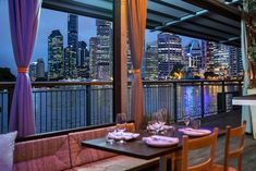 Greca brings the best of Greek cuisine to Howard Smith Wharves, occupying an historic shed with stunning city views