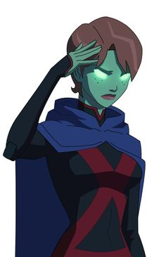 Share your Young justice miss martian variant
