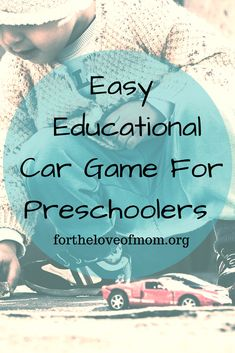 Check out this educational game using toy cars - perfect for preschool & toddler aged children! Educational Activities For Toddlers, Learning Games For Preschoolers, Childcare Activities, Rainy Day Activities, Toddler Learning Activities, Preschool Games, Toddler Preschool, Preschool Crafts, Family Activities