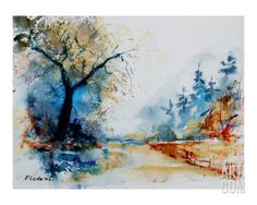 Watercolor 2407062 Giclee Print by Ledent at Art.com